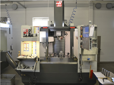 Haas vf-1 cnc (computer-numerical-control) vertical machining center (mill)
